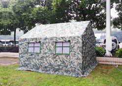 军用迷彩帐篷
