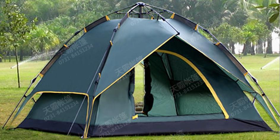 四人三用自动旅游帐篷