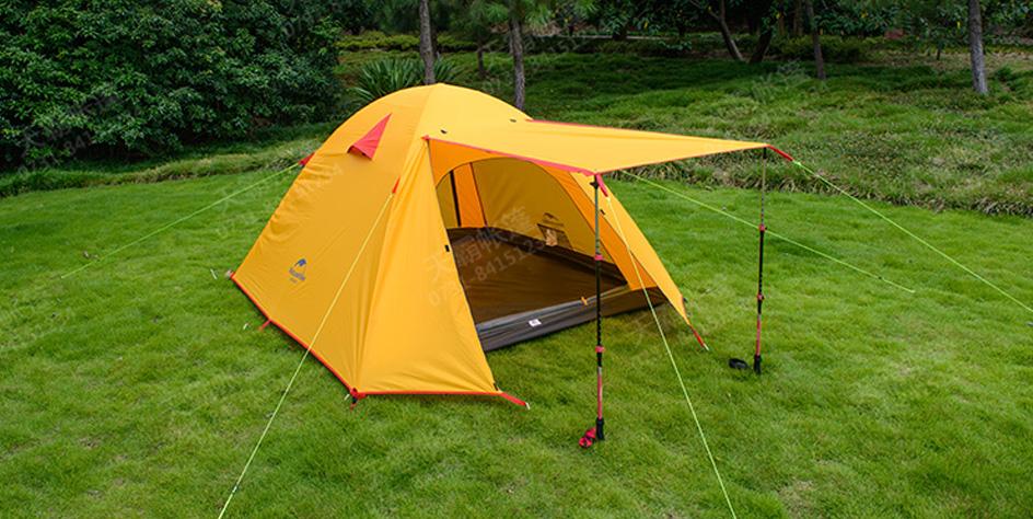 铝杆旅游帐篷