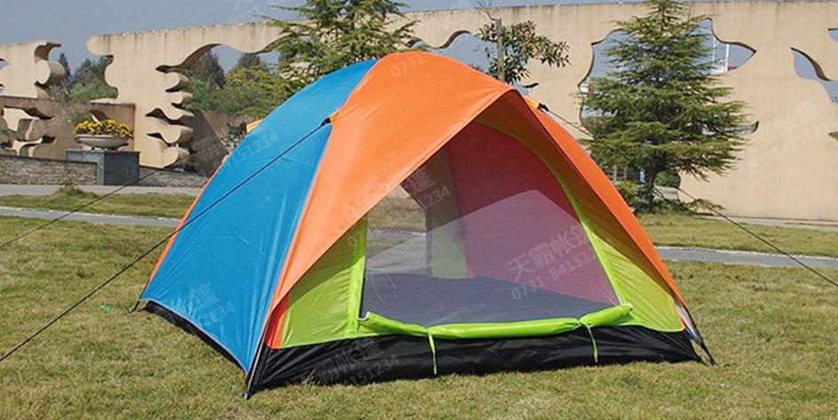 双人旅游帐篷