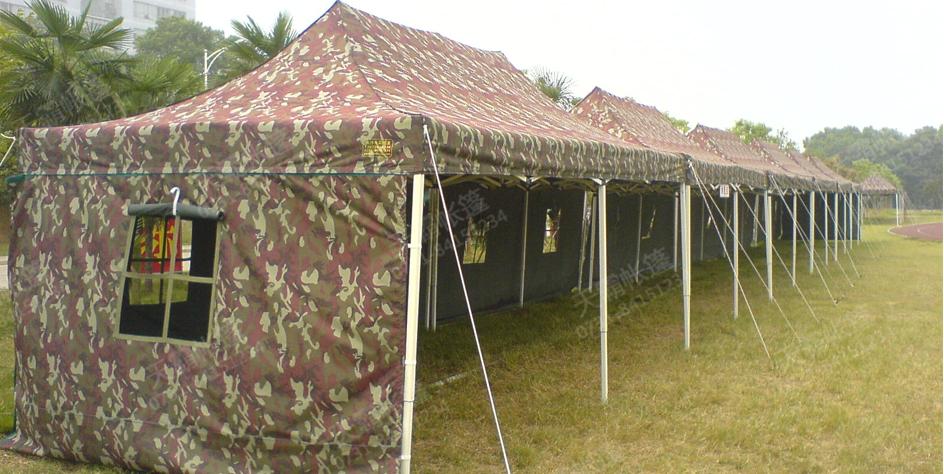 3*6米折叠军用帐篷