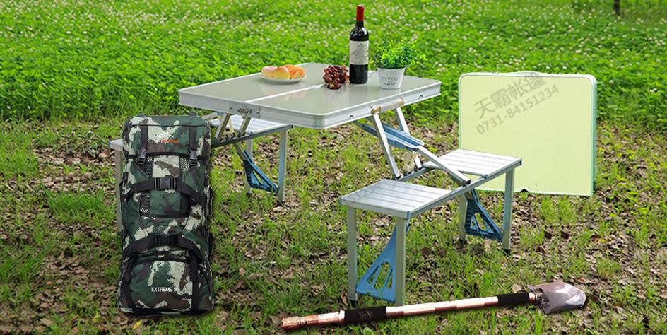 背包+藏獒铲+连体桌+对折桌